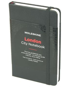 Moleskine notes podróżnika City of London