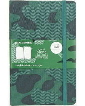 Moleskine notes Nomad Blend green