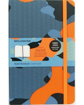 Moleskine notes Nomad Blend orange