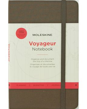 Moleskine notes Voyageur Notebook